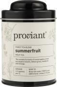 Te urte Summerfruit i dåse Proviant