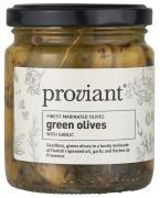 Oliven grønne m/hvidløg Proviant