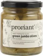 Oliven grønne jumbo m/mandel Proviant