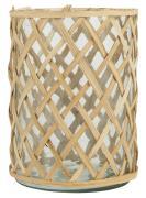 Glasskjuler m/bambus lille