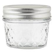 Opbevaringsglas harlekintern m/metallåg 75 ml