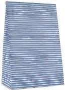 Klodsbundspose håndtegnet stribe blå 100 stk