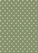 Papirrulle firkløver grøn
