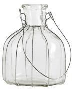 Flaske t/bedelys m/wire