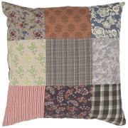 Pudebetræk patchwork multifarvet