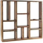 Væghylde m/forskellige rum UNIKA Kan hænge vandret og lodret