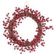 Krans m/røde bær