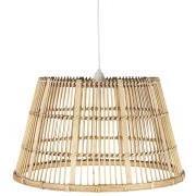 Hængelampe bambusskærm ledning L:140 cm