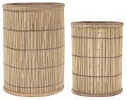 Lygtesæt a 2 bambussider
