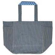 Taske blå farver