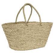 Strandtaske af søgræs konisk