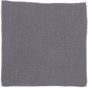 Karklud Mynte mørkegrå strikket
