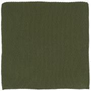 Karklud Mynte mørkegrøn strikket
