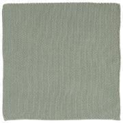 Karklud Mynte støvgrøn strikket