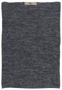 Håndklæde Mynte mørkeblå melange
