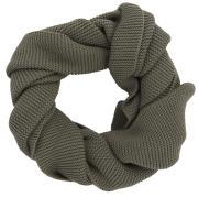 Tørklæde strikket grå