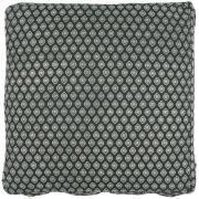 Hyndebetræk sort m/mønster