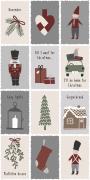 Serviet Nostalgic Christmas 16 stk pr pakke