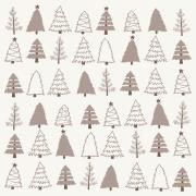 Serviet juletræer 20 stk pr pakke