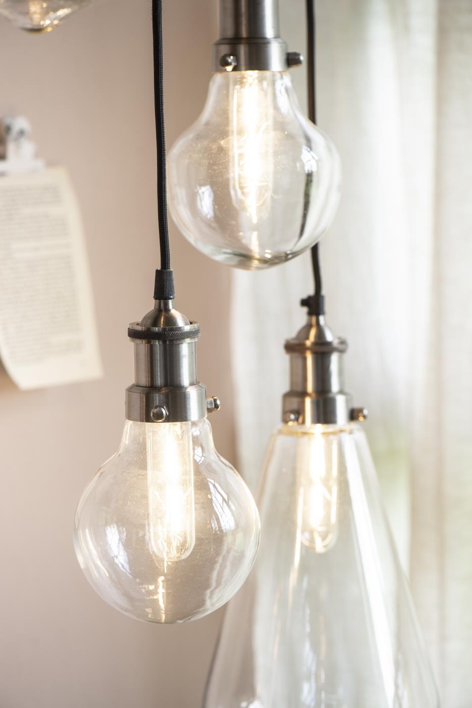 Fremragende Lampe Birnenformig inkl. Abdeckkappe - Ib Laursen NB16