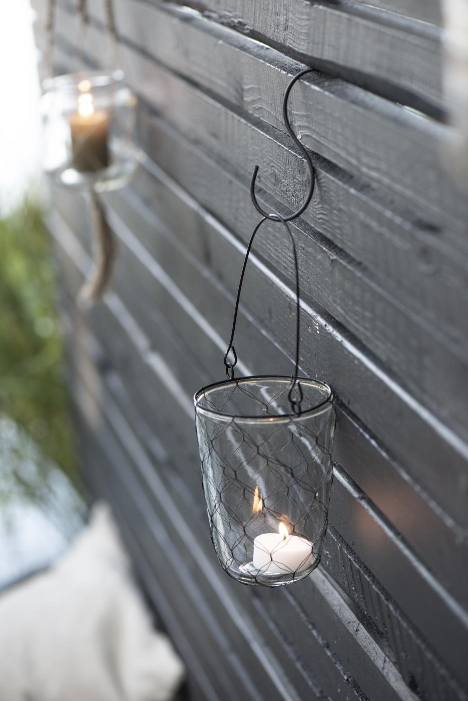 teelichthalter zum h ngen m draht ib laursen. Black Bedroom Furniture Sets. Home Design Ideas